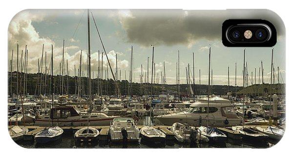 Moored Boats IPhone Case