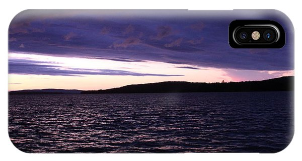 Moosehead Lake Sunset Phone Case by Ryan Hord