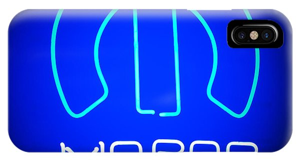 IPhone Case featuring the photograph Mopar Neon Sign by Jill Reger