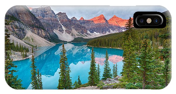 Moraine Lake Banff National Park IPhone Case