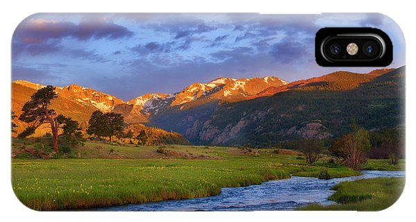Rocky Mountain iPhone Case - Moraine Morning by Darren  White