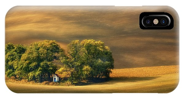 Moravian Fields... IPhone Case