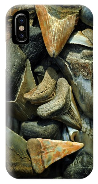 More Megalodon Teeth IPhone Case