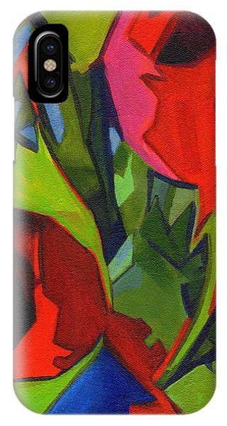 More Red Tulips  IPhone Case