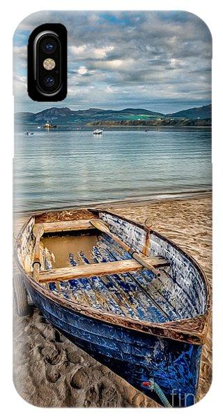 Morfa Nefyn Boat IPhone Case