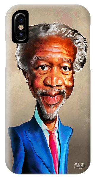 Morgan Freeman IPhone Case