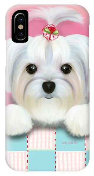Morkie Shelly IPhone Case