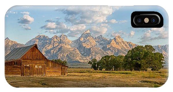 Mormon Row Farm IPhone Case