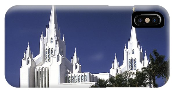 Mormon Temple IPhone Case