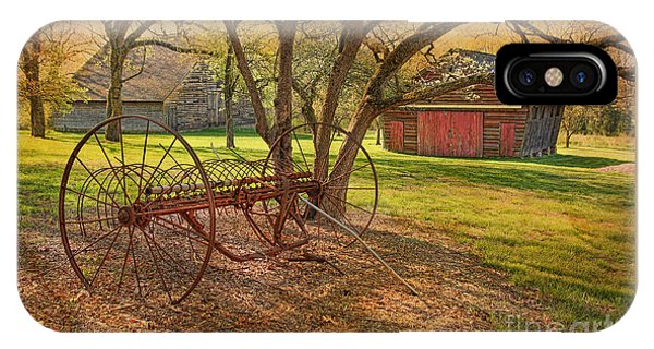 Morning At Bouman Stickney Farm IPhone Case
