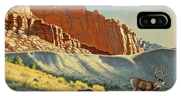 Buck iPhone Case - Morning At Capitol Reef by Paul Krapf