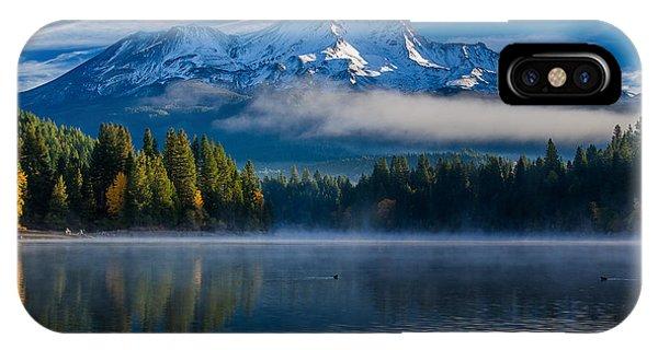 Morning At Siskiyou Lake IPhone Case