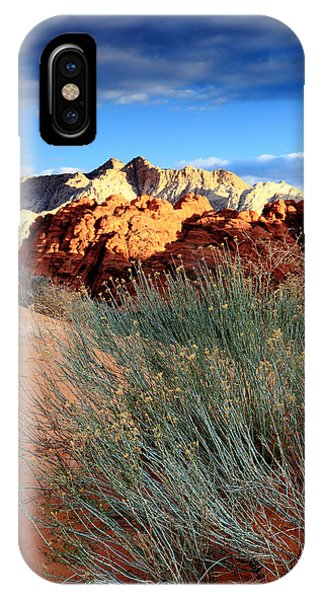 Morning At Snow Canyon State Park IPhone Case