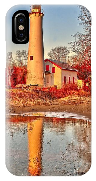 Morning At Sturgeon Point  IPhone Case