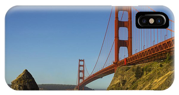 Morning At The Golden Gate IPhone Case