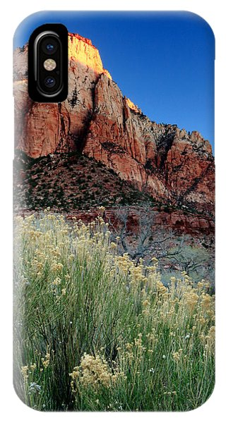 Morning At Zion National Park IPhone Case