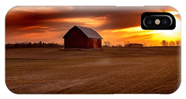 Morning Barn IPhone Case