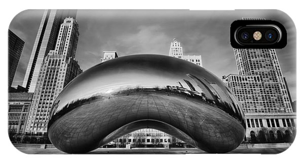 Morning Bean In Black And White IPhone Case