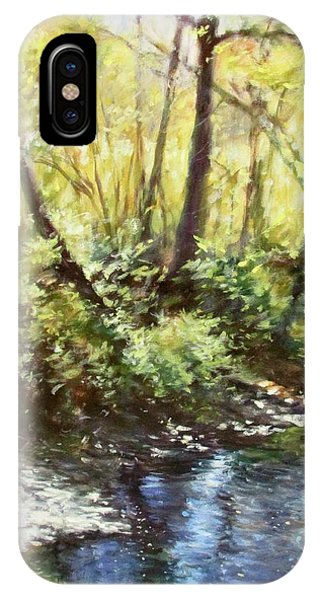 Morning By The River IPhone Case
