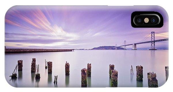 San Francisco iPhone Case - Morning Calmness - San Francisco Bay by David Yu
