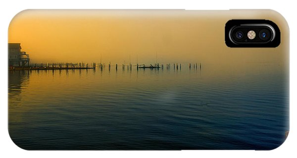 Morning Comes On The Bay IPhone Case