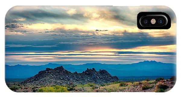 Morning Desert Glow IPhone Case