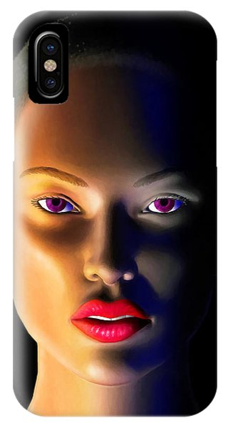Lupita iPhone Case - Morning Dew by Anthony Mwangi