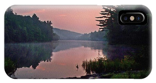 Morning....... Egypt Pond IPhone Case