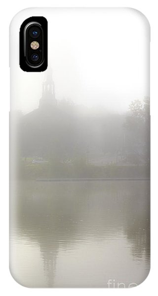 Morning Fog In Mont-saint-hilaire IPhone Case