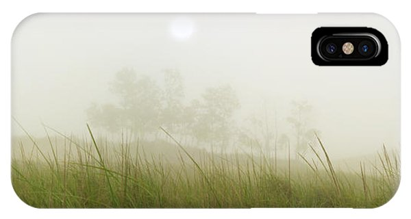 Morning Fog On The Dunes IPhone Case