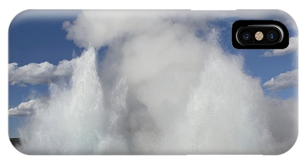 Morning-fountain Dual Eruption IPhone Case
