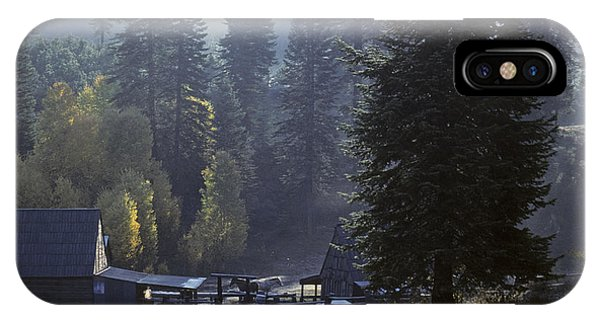 Morning Frost At Dawn IPhone Case