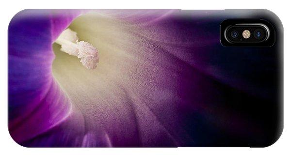 Morning Glory Purple IPhone Case
