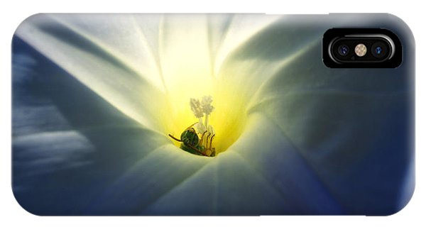 Morning Glory Visitor 2 IPhone Case