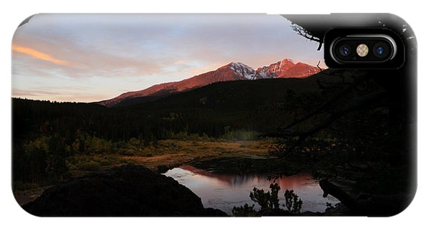 Morning Glow On Mountain Peaks IPhone Case