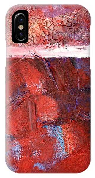 Texture iPhone Case - Morning Grit by Nancy Merkle