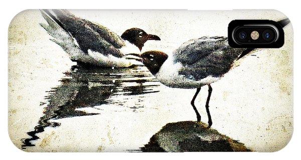 Morning Gulls - Seagull Art By Sharon Cummings IPhone Case