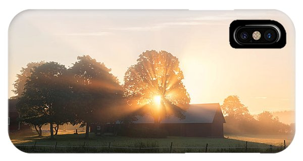 Rural iPhone Case - Morning Has Broken by Christian Lindsten