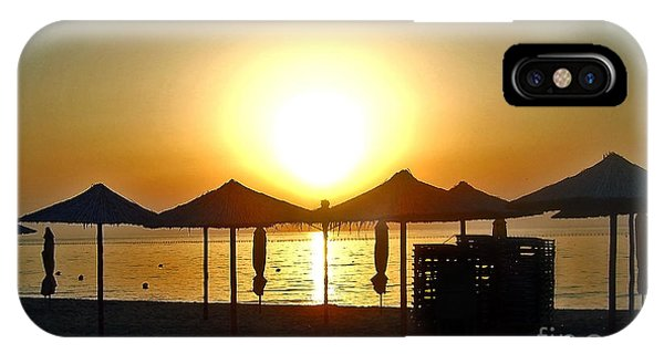 Morning In Greece IPhone Case