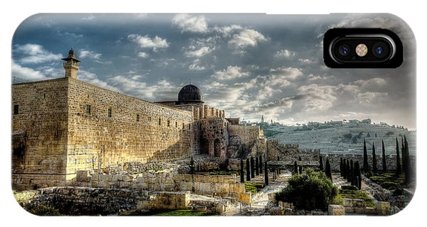 Morning In Jerusalem Hdr IPhone Case