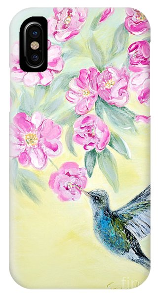 Morning In My Garden. Card IPhone Case