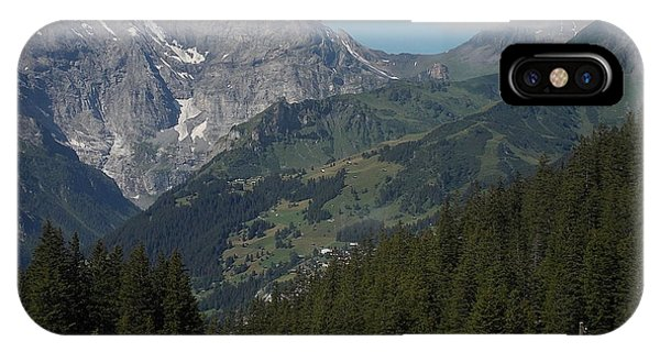 Morning In The Alps IPhone Case