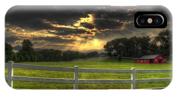 IPhone Case featuring the photograph Morning In The Western North Carolina Mountains by Greg and Chrystal Mimbs