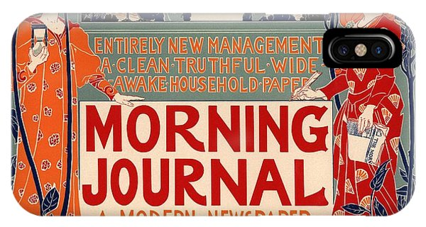 Vintage iPhone Case - Morning Journal by Gianfranco Weiss