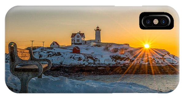 Morning Light At Nubble Lighthouse IPhone Case