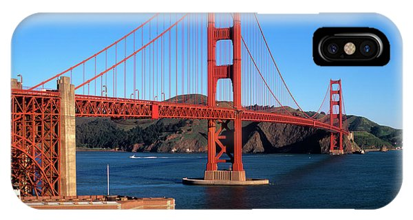 Developed iPhone Case - Morning Light Bathes The Golden Gate by John Alves