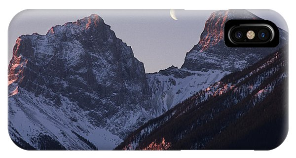 Morning Light Canmore IPhone Case