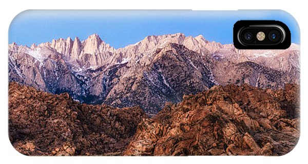 Morning Light Mount Whitney IPhone Case