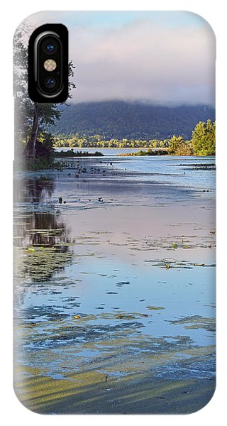 Morning Light On The Mississippi IPhone Case