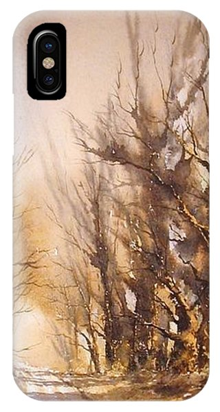 Morning Light Phone Case by Roland Byrne
